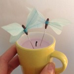 6) Hand made buterflies