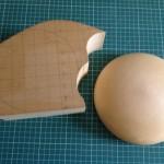 1) Material and block