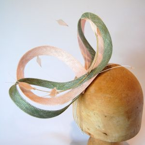 Rose Sage, to match a large headpiece